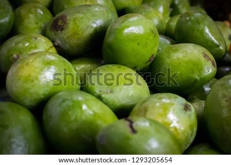Fresh Karabao Mangoes of the Philippines #1293205654