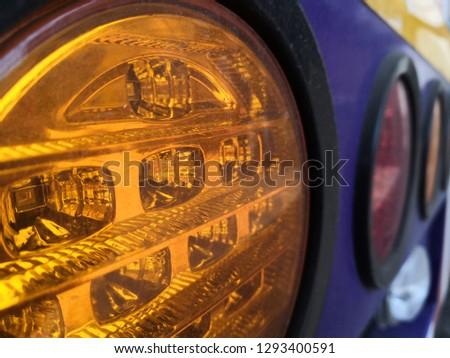 headlight transport car at indrustry #1293400591