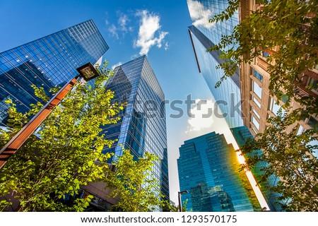 In downtown Edmonton Alberta Canada Royalty-Free Stock Photo #1293570175
