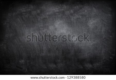 Chalk rubbed out on blackboard Royalty-Free Stock Photo #129388580