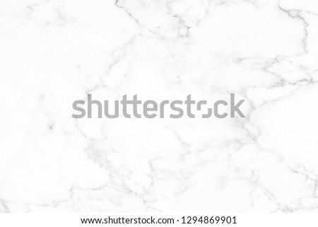 White marble surface for do ceramic counter white light texture tile gray background marble natural for interior decoration and outside. #1294869901