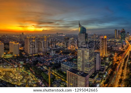Jakarta officially the Special Capital Region of Jakarta, is the capital of Indonesia. Jakarta is the center of economics, culture and politics of Indonesia #1295042665