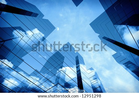 3d office towers #12951298