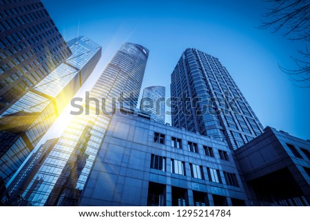 Modern Urban Skyscrapers and Architectural Landscapes #1295214784