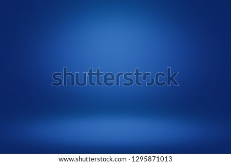 Blue room in the 3d. Light style background. #1295871013