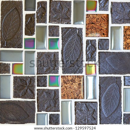 Abstract seamless square #129597524