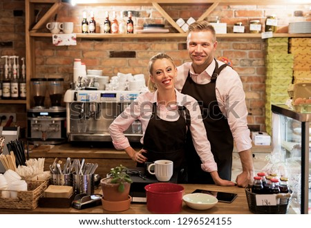 Couple has started their own cafe #1296524155