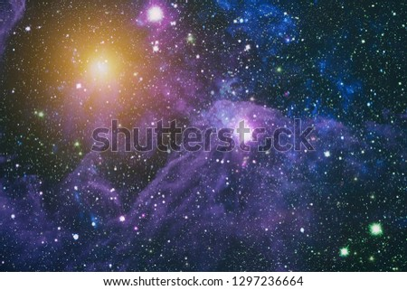 space many light years far from the Earth. Elements of this image furnished by NASA #1297236664