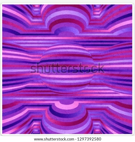 Abstract Illustration Pattern Color #1297392580