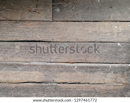 Textured background,Abstract pattern background,The old wood texture with natural patterns,Wood floor texture background, old peeling wood. #1297461772