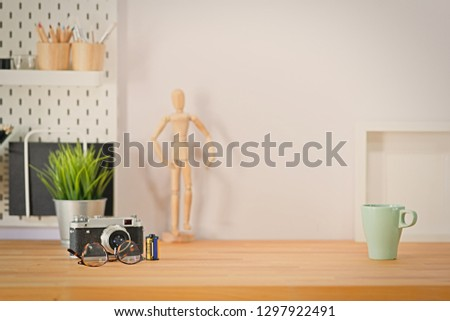 Mockup loft workspace and copy space #1297922491