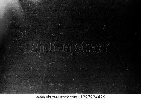 Black grunge scratched background, scary horror distressed texture, old film effect, copy space #1297924426