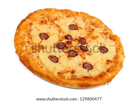 Pineapple Pizza #129800477