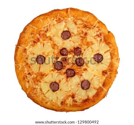 Pineapple Pizza #129800492