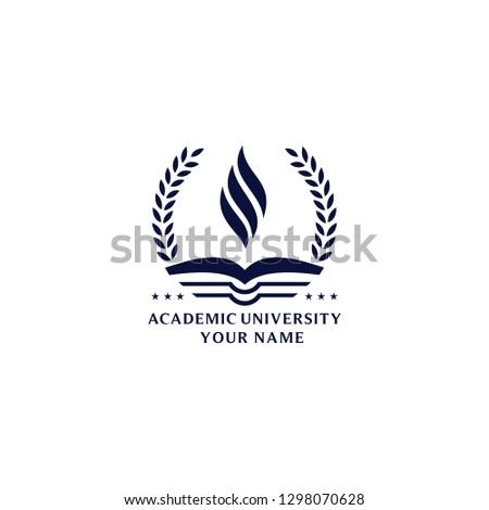 University Logo Vectors Royalty-Free Stock Photo #1298070628