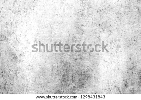 White and black grunge texture.Old dirty and scratched surface. #1298431843