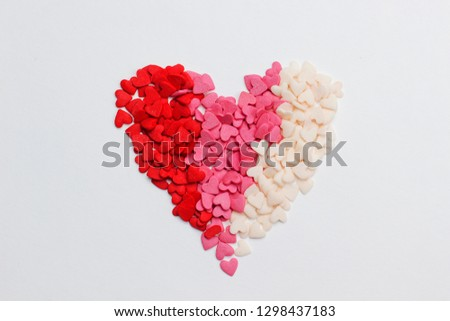 Sweet hearts Valentine's card  #1298437183