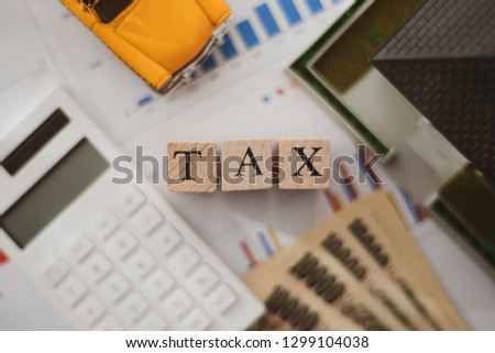 Tax and business #1299104038
