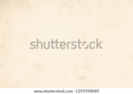 OLD NEWSPAPER BACKGROUND, BLANK PAPER TEXTURE, SPACE FOR TEXT #1299398089