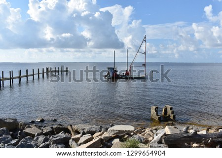 St George Island and Sound Florida #1299654904
