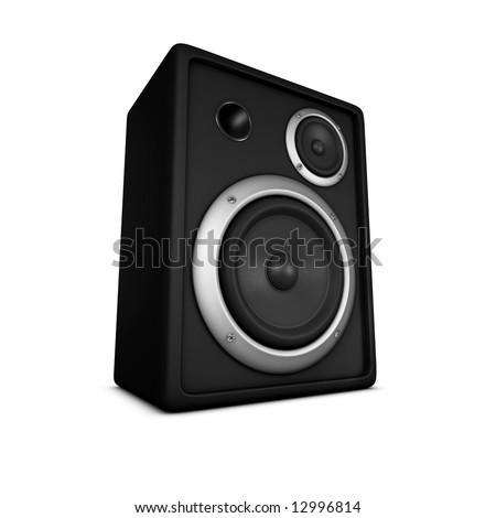 speaker, loudspeaker, woofer, speakerbox, subwoofer #12996814