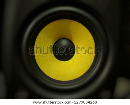 audio speaker music #1299834268
