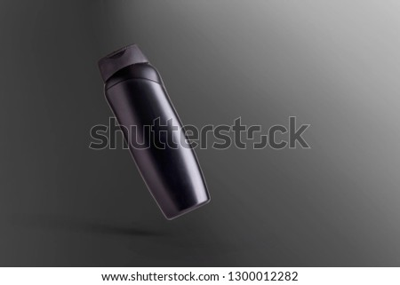 Mock Up Personal Care photo product isolated black #1300012282