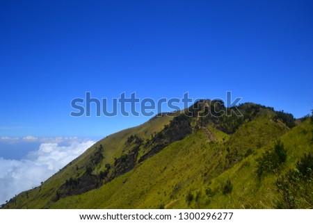 the beauty of Mount Merbabu #1300296277