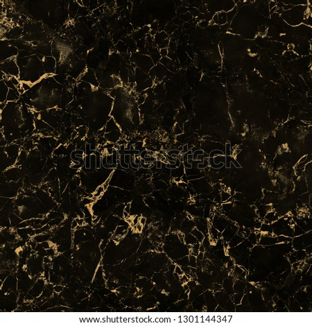 high gloss black marble texture with golden veins, black marble natural pattern for background, abstract black and gold, Yellow glittering stone walls texture background, Shiny yellow gold foil. #1301144347