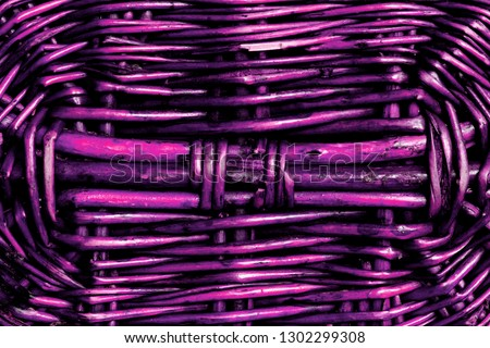 bright purple natural woven pattern close up #1302299308