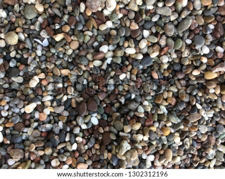 pebbles on a beach #1302312196