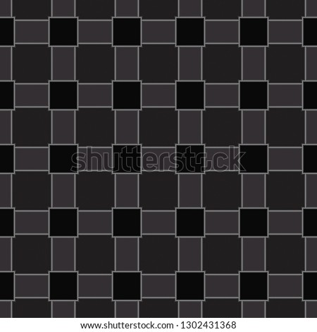 Seamless geometric stained glass pattern #1302431368