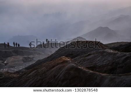 Mount Bromo, East Java Indonesia #1302878548