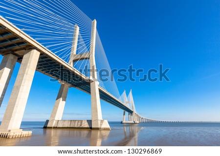 Modern bridge fragment #130296869