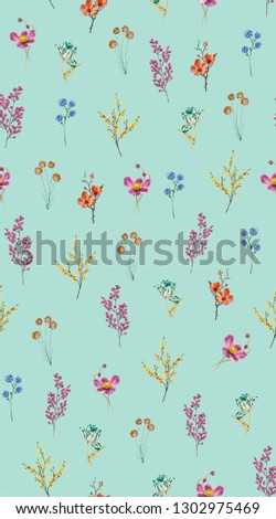floral flower pattern with background #1302975469