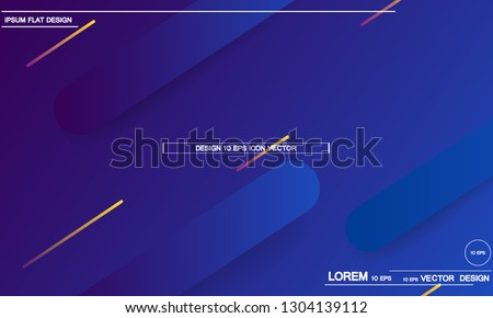 Geometric background. Dynamic shapes composition. Eps10 vector. #1304139112