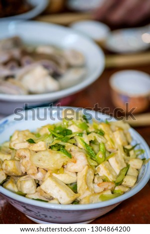 Home cooking during Chinese New  Year #1304864200