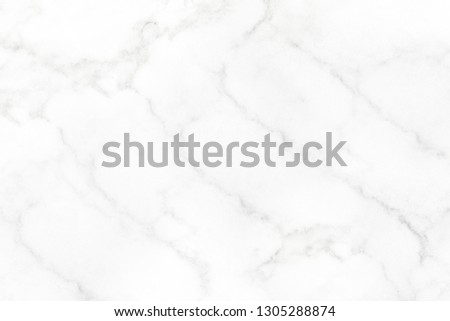 White marble surface for do ceramic counter white light texture tile gray background marble natural for interior decoration and outside. #1305288874