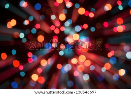 Bokeh. Abstract blurred light background