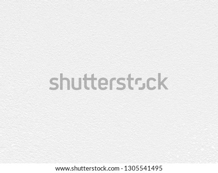 White Paper Texture also look like white cement wall texture. The textures can be used for background of text or any contents on christmas or snow festival. #1305541495