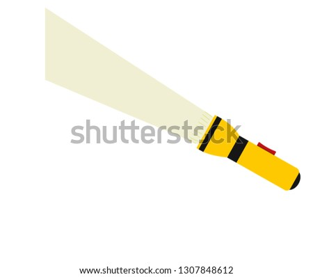 Yellow Torch Light