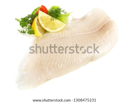Halibut Fish Fillet