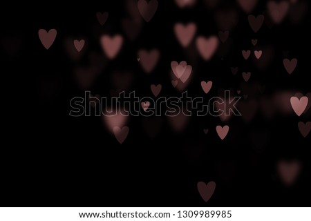 Bokeh hearts overlay, hearts overlay, photo overlay, blurred hearts background, Valentine's Day background, love photo overlay, hearts bokeh #1309989985