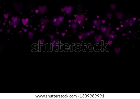 Bokeh hearts overlay, hearts overlay, photo overlay, blurred hearts background, Valentine's Day background, love photo overlay, hearts bokeh #1309989991