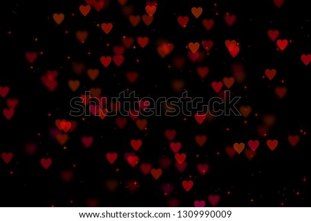Bokeh hearts overlay, hearts overlay, photo overlay, blurred hearts background, Valentine's Day background, love photo overlay, hearts bokeh #1309990009