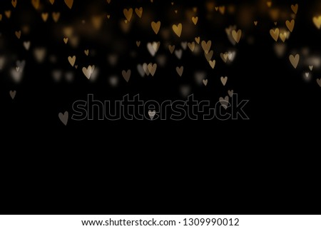 Bokeh hearts overlay, hearts overlay, photo overlay, blurred hearts background, Valentine's Day background, love photo overlay, hearts bokeh #1309990012