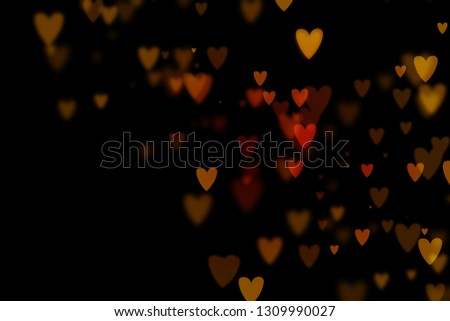 Bokeh hearts overlay, hearts overlay, photo overlay, blurred hearts background, Valentine's Day background, love photo overlay, hearts bokeh #1309990027