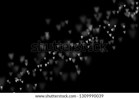 Bokeh hearts overlay, hearts overlay, photo overlay, blurred hearts background, Valentine's Day background, love photo overlay, hearts bokeh #1309990039