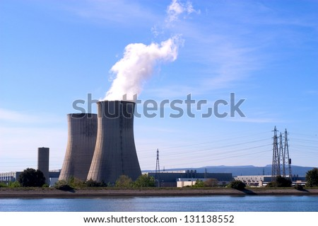 industrial site in nuclear power generation #131138552