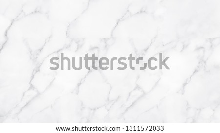 White marble texture and background for design pattern artwork. #1311572033